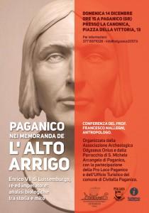 locandina L'alto Arrigo, Arrigo VII a Paganico