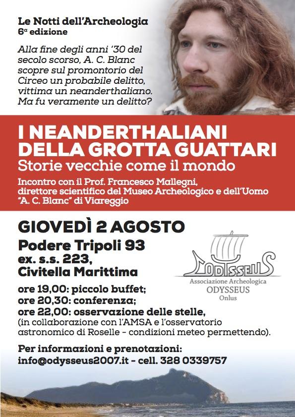 I Neanderthaliani della Grotta Guattari - Associazione Archeologica Odysseus Onlus
