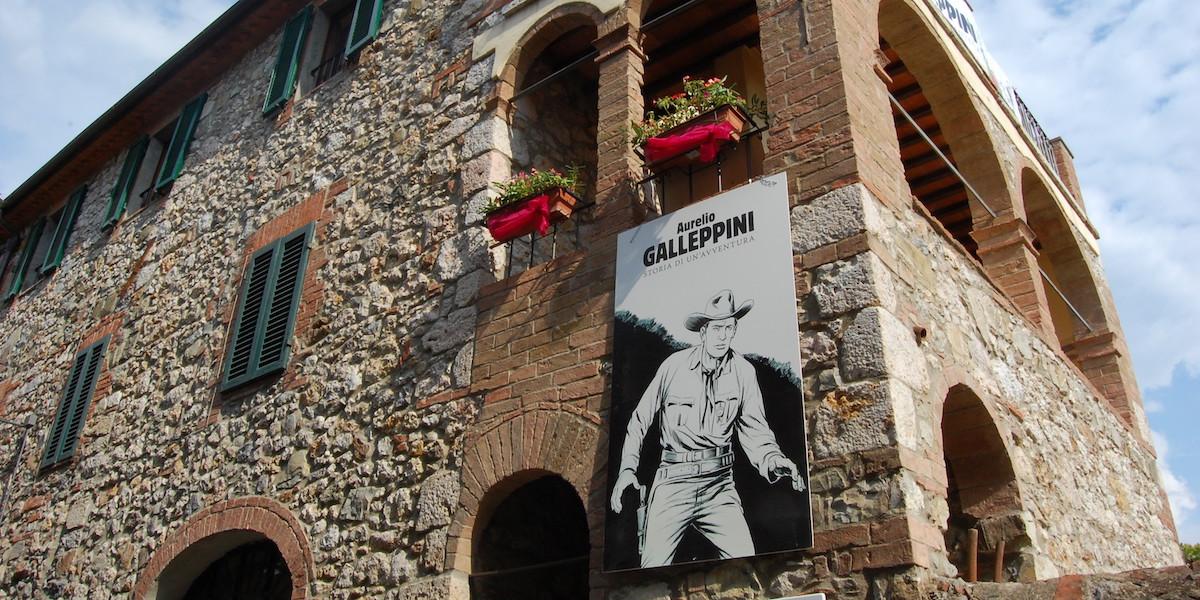 Nuvole in Toscana, 2009 - Casa natale di Galep
