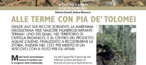 Alle terme con Pia De' Tolomei - Archeo, giugno 2021