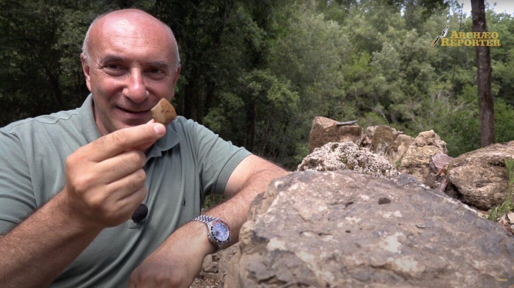 Reportage di Archaeo Reporter sullo scavo delle Caldanelle